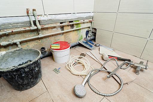 Материалы для ремонта санузла